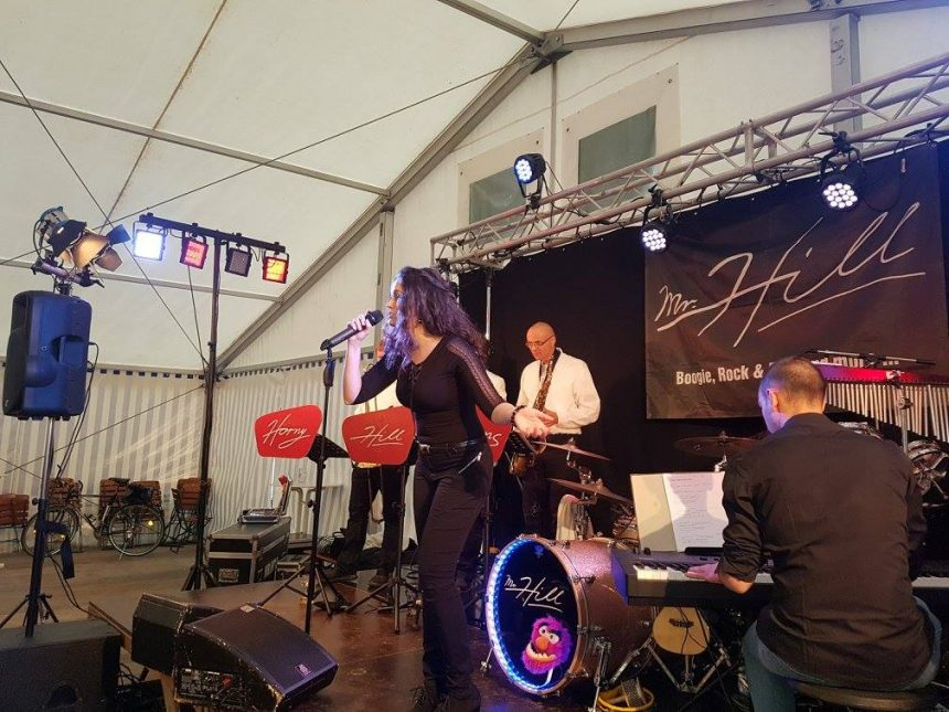 Mr.Hill …R&R im Bierzelt