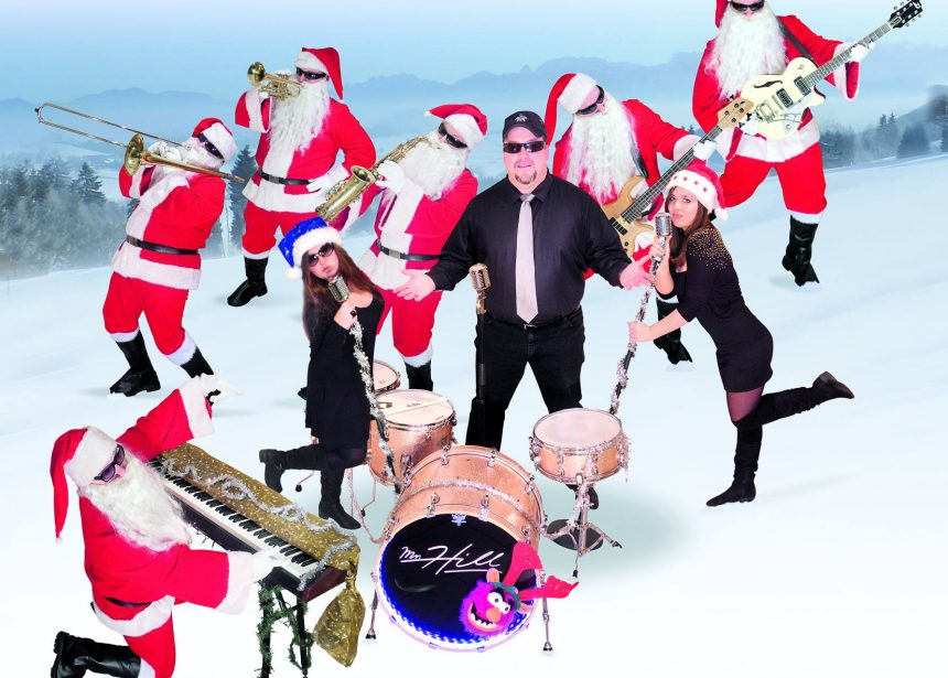 """Let`s have a rock`n roll X-mas party with """"Mr.Hill"""" tonight! Brauhaus 1516 Augsb…"""