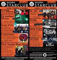 17.2. Mr.Hill back in the ***Doubles Starclub***…let`s rock the house :-)